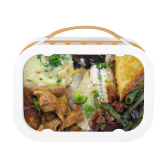 Food Yubo Lunchbox, Orange Lunch Box
