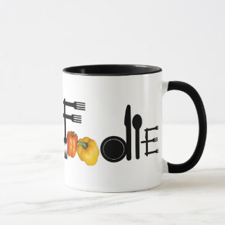 Foodie For Light Background Mug