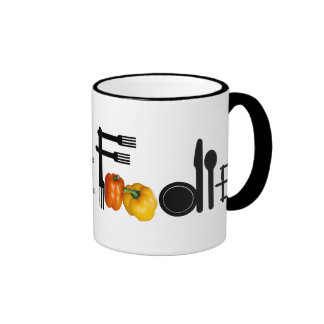 Foodie For Light Background Coffee Mugs