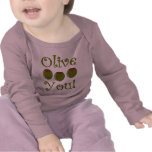 Foodie Olive You T-shirts