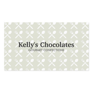 FOODIE PATTERN No. 1 Business Card