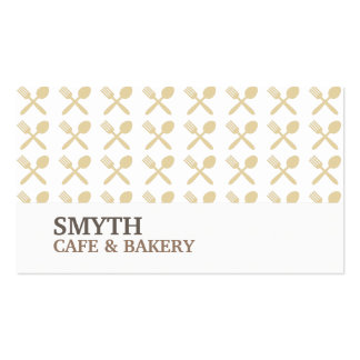 FOODIE PATTERN No 4 Business Card