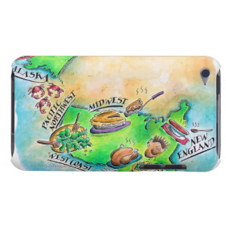 Foods of the USA Barely There iPod Cases