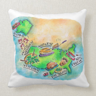 Foods of the USA Cushion
