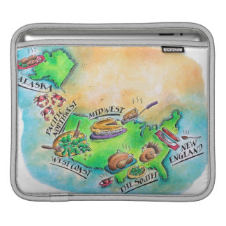 Foods of the USA iPad Sleeve