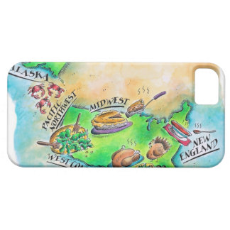 Foods of the USA iPhone 5 Cover