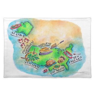 Foods of the USA Placemat