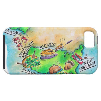 Foods of the USA Tough iPhone 5 Case