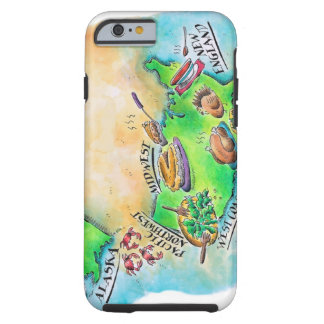 Foods of the USA Tough iPhone 6 Case