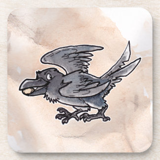 Fool s Gold Raven Coasters