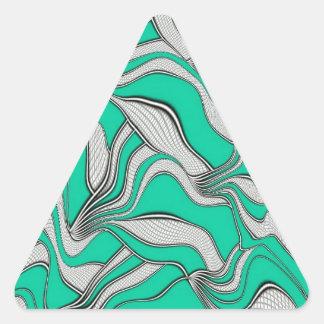 foolish movements triangle stickers