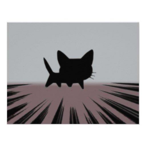 Fooly Cat Invitations