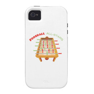 Foosball All-Stars iPhone 4/4S Cover