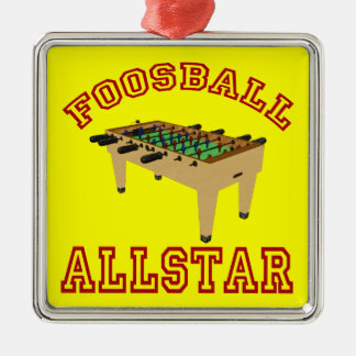 Foosball Allstar Christmas Ornament