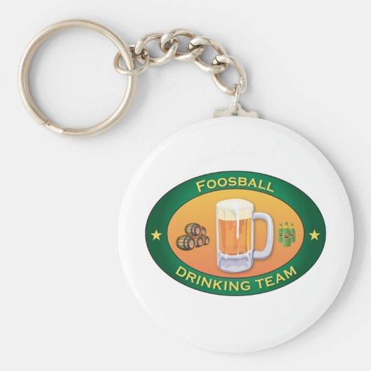 Foosball Drinking Team Key Ring
