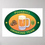 Foosball Drinking Team Print