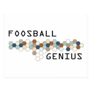 Foosball Genius Postcards