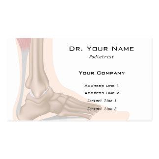 Foot anatomy Business Card