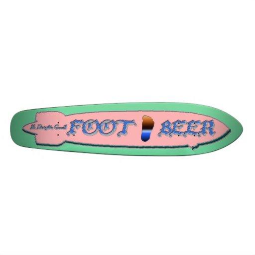 FOOT BEER FOOT BEER-It's Dirigible Good! Skateboard Deck