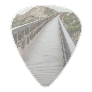Foot Bridge at Oso Flaco Lake State Park Acetal Guitar Pick