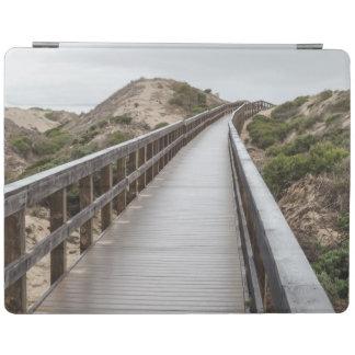 Foot Bridge at Oso Flaco Lake State Park iPad Cover