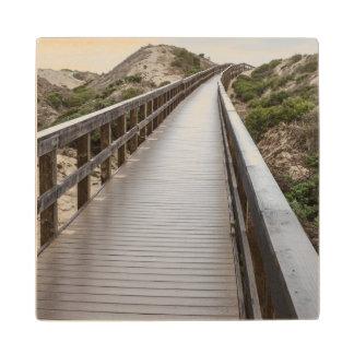 Foot Bridge at Oso Flaco Lake State Park Wood Coaster