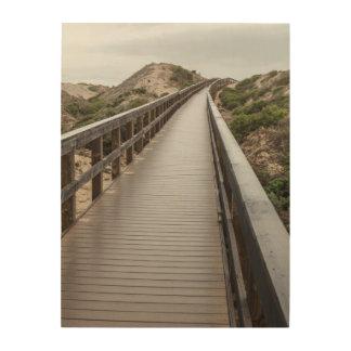Foot Bridge at Oso Flaco Lake State Park Wood Wall Decor