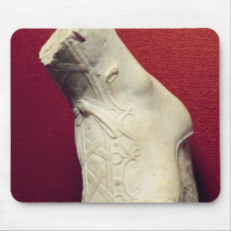 Foot from a statue mouse mat