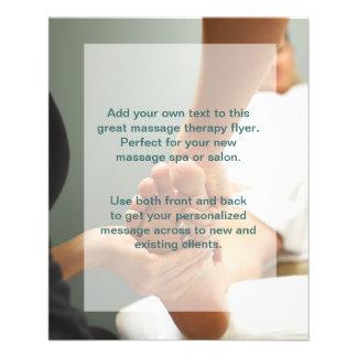 Foot Massage Photo 11.5 Cm X 14 Cm Flyer