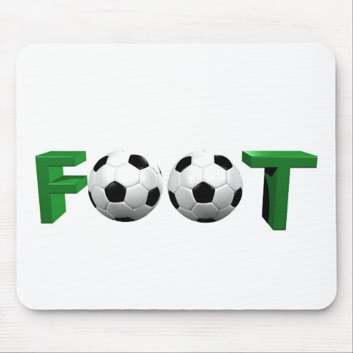 foot mouse pad