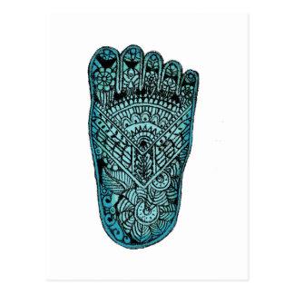 Foot of Fatima Postcard