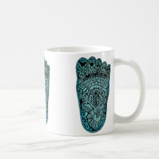 Foot of Fatima White Mug