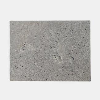 Foot Prints In The Sand at Virginia Beach Doormat