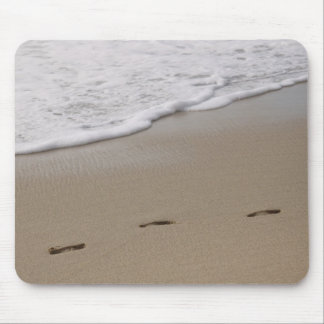 Foot Prints Mouse Pad