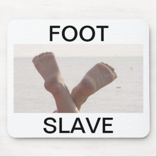 FOOT SLAVE MOUSE PAD