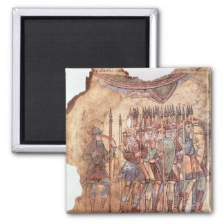 Foot Soldiers in the Crusades Magnet