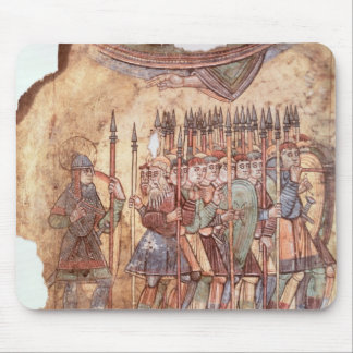 Foot Soldiers in the Crusades Mouse Mat