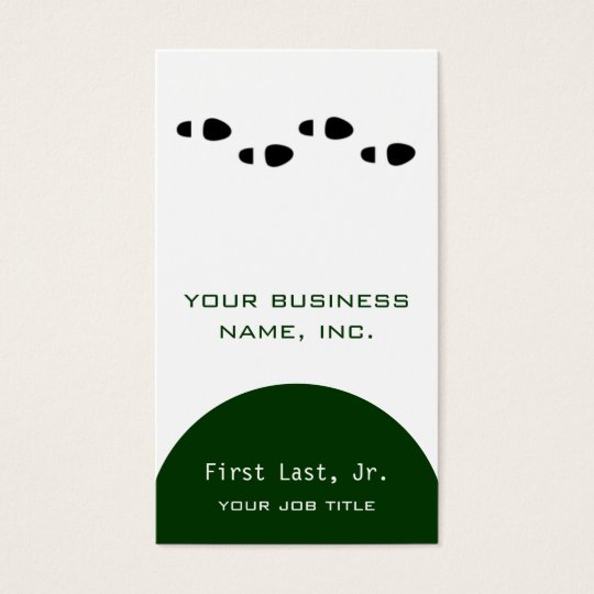 Foot Steps [four] Business Card