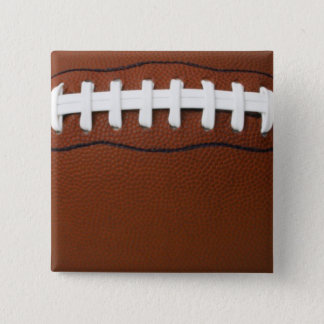 Football 15 Cm Square Badge