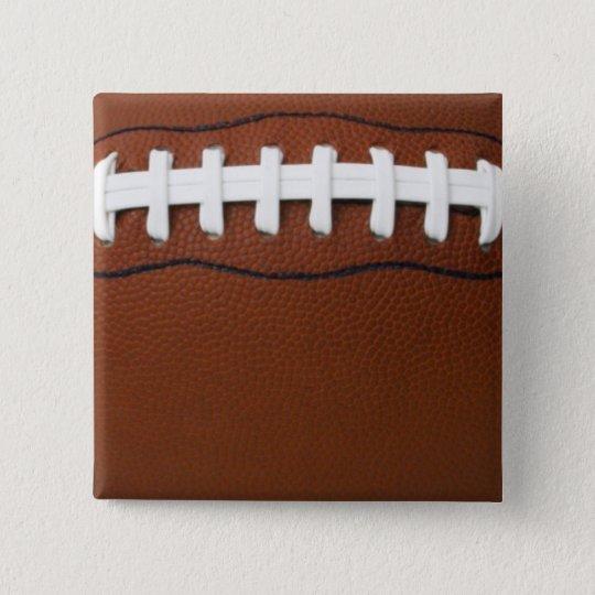 Football 15 Cm Square Badge