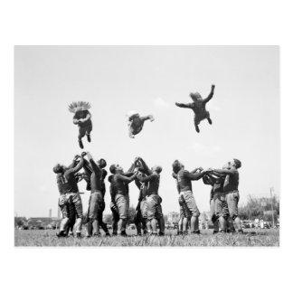 Football 1930s post card