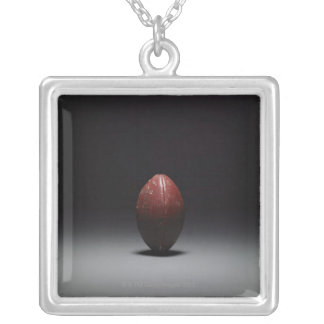 Football 2 silver plated necklace