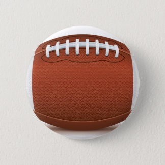 football 6 cm round badge