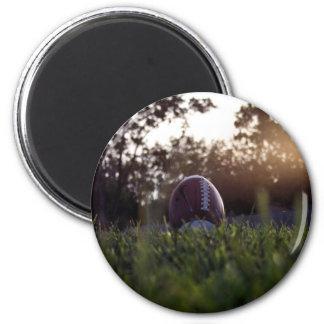 Football 6 Cm Round Magnet