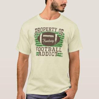 Football Addict by Mudge Studios T-Shirt