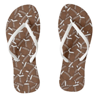 Football Adult, Slim Straps Flip Flops