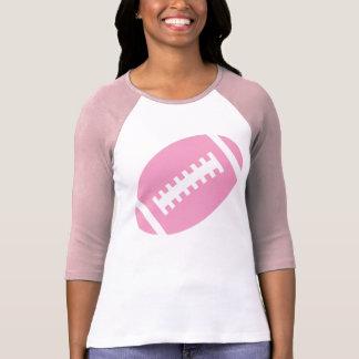 FOOTBALL ADULTS Pink & White | Soft Pink Football T-shirt