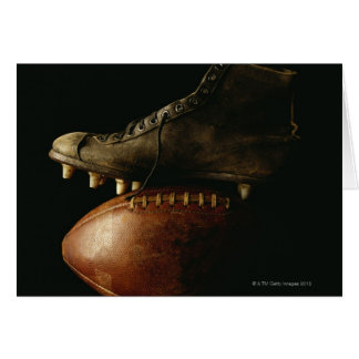 Football and Cleat Card
