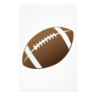 Football and Football Teams Graphic Stationery