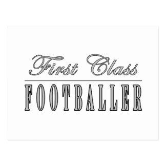 Football and Footballers First Class Footballer Postcard